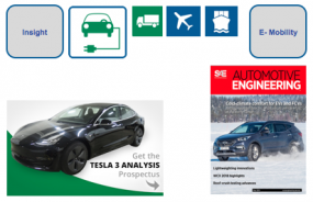 The May edition of the digital edition of the SAE Automotive Engineering is absolutely worth reading: Tesla 3 Teardown by Munro and Associates AND Performance test of the battery-powered Hyundai HVAC at the Arctic Circle