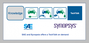 SAE and Synopsis offers a TechTalk on demand